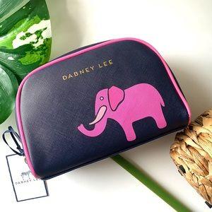 Dabney Lee Elephant Print Cosmetic Case